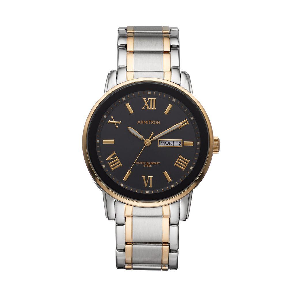 Armitron Men's Two Tone Watch - 20/4935BKTT