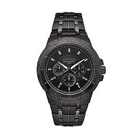 Armitron Men's Black Ion-Plated Stainless Steel Watch - 20/5144BKTI
