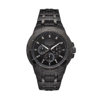 Armitron Men's Black Ion-Plated Stainless Steel Watch - 20/5144BKTI