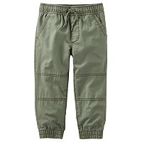 Boys 4-12 OshKosh B'gosh® Twill Jogger Pants