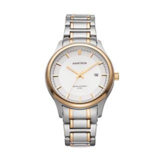 Armitron Men's Two Tone Stainless Steel Watch - 20/5230SVTT