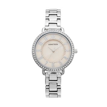 Armitron Women's Crystal Watch - 75/5471TMSV