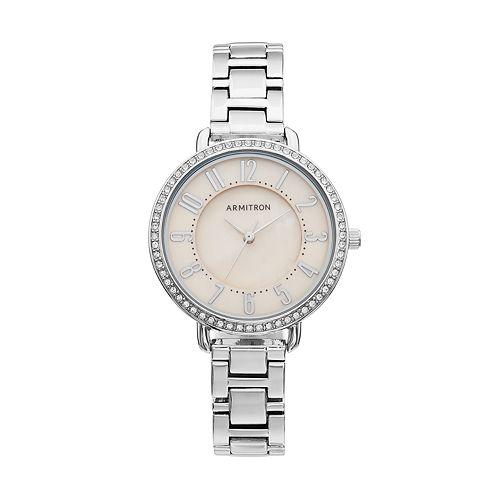 Armitron Women's Crystal Watch - 75/5471TMSV