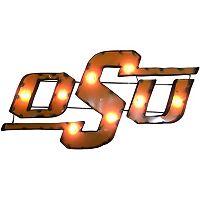 Oklahoma State Cowboys Light-Up Wall Décor