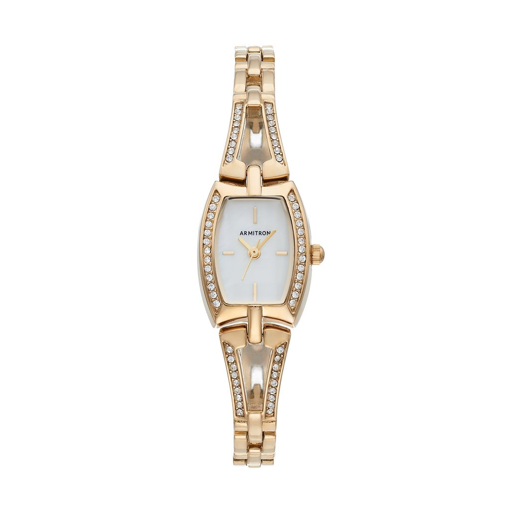 Armitron Women's Crystal Watch - 75/5502MPGP