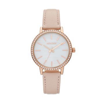 Armitron Women's Crystal Leather Watch - 75/5503MPRGBH