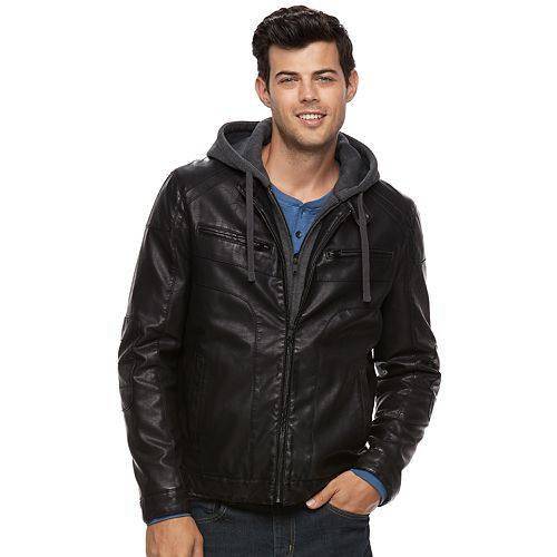 Men's Apt. 9® Bibbed Moto Jacket