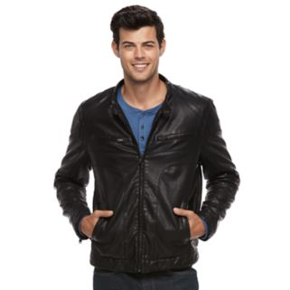 Men's Apt. 9® Bibbed Moto Jacket