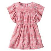 Girls 4-8 Carter's Floral Cinched Waist Dress