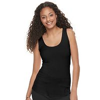 Juniors' Candie's® Ribbed Ladder Back Tank