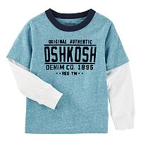 Boys 4-12 OshKosh B'gosh® Denim Co. Mock-Layer Tee