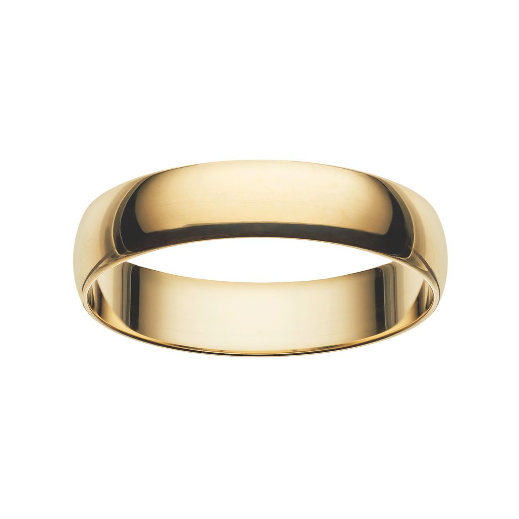 Men's 10k Gold Wedding Band
