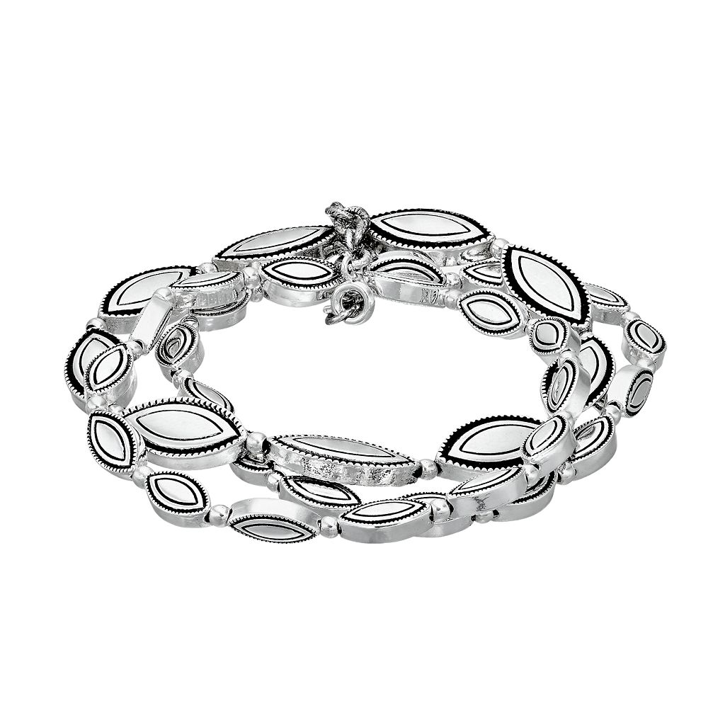 Dana Buchman Marquise Stretch Bracelet Set