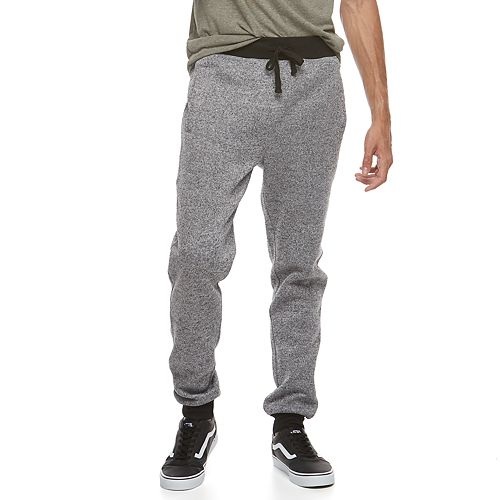 Men's Hollywood Jeans Sweater-Knit Jogger Pants