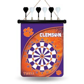 Clemson Tigers Magnetic Dart Board