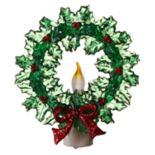 Wreath Christmas Night Light