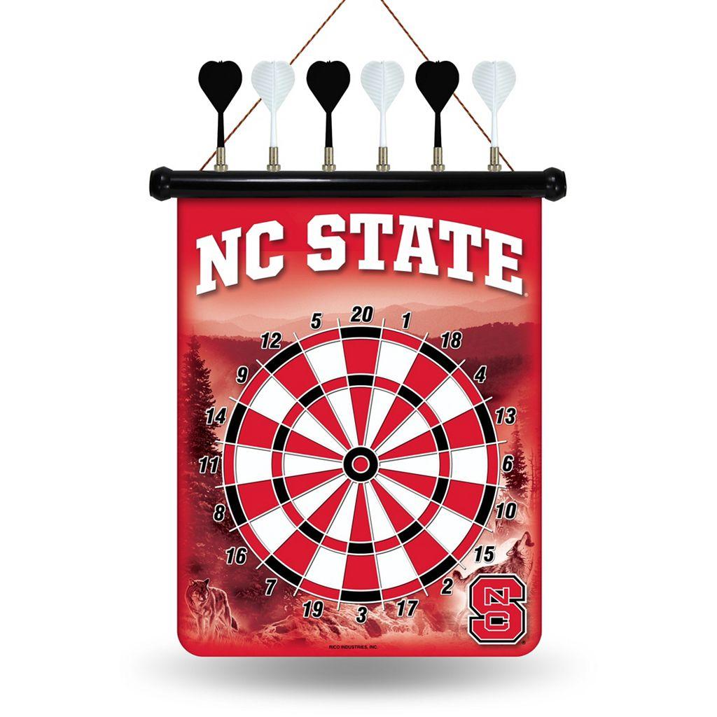North Carolina State Wolfpack Magnetic Dart Board