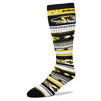 Adult For Bare Feet Missouri Tigers Tailgater Crew Socks