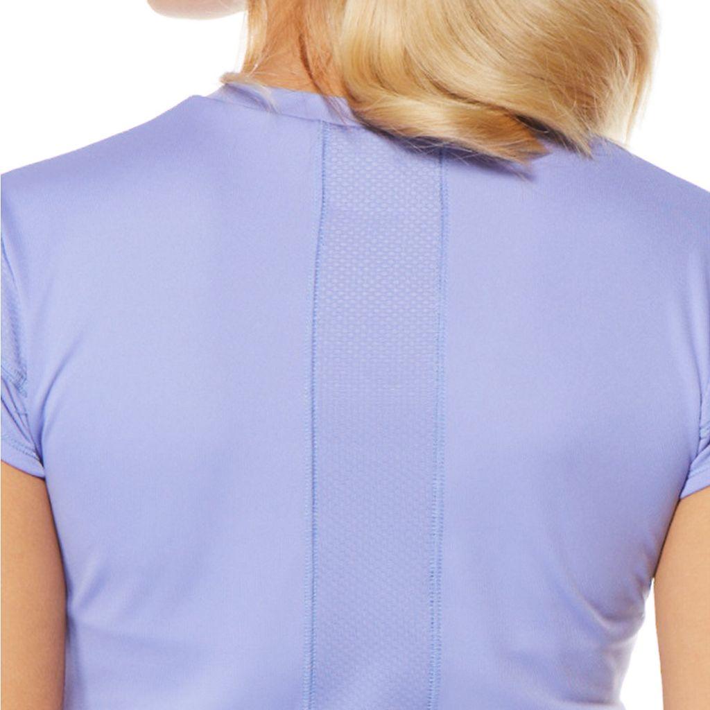 Women's Grand Slam Performance Cap Sleeve Golf Top