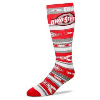 Adult For Bare Feet Ohio State Buckeyes Tailgater Crew Socks