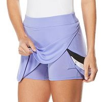 Women's Grand Slam Layered Color Block Golf Skort
