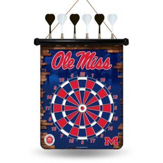 Ole Miss Rebels Magnetic Dart Board