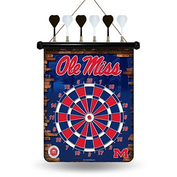 Ole Miss Rebels Magnetic Dart Board