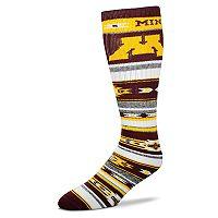 Adult For Bare Feet Minnesota Golden Gophers Tailgater Crew Socks