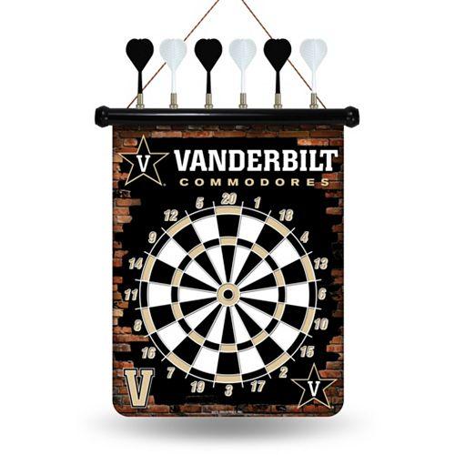 Vanderbilt Commodores Magnetic Dart Board