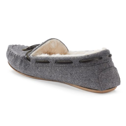 SONOMA Goods for Life™ Women's Faux-Fur Lined Moccasin Slippers