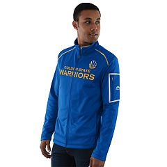 Men's Majestic Golden State Warriors Historic Stature Jacket