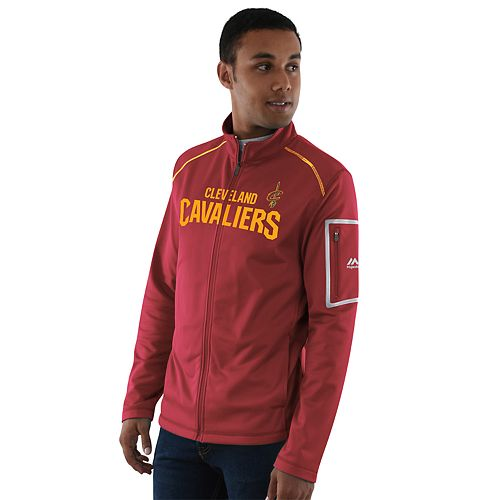 Men's Majestic Cleveland Cavaliers Historic Stature Jacket