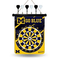 Michigan Wolverines Magnetic Dart Board