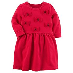 Girl's 4-8 Carter's Bow Dress