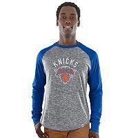 Men's Majestic New York Knicks National Exposure Tee