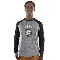 Men's Majestic Brooklyn Nets National Exposure Tee
