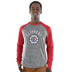 Men's Majestic Los Angeles Clippers National Exposure Tee