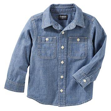 Boys 4-12 OshKosh B'gosh Denim Shirt