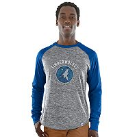 Men's Majestic Minnesota Timberwolves National Exposure Tee