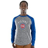 Men's Majestic Detroit Pistons National Exposure Tee