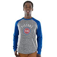 Men's Majestic Detroit Pistons National Exposure Tee