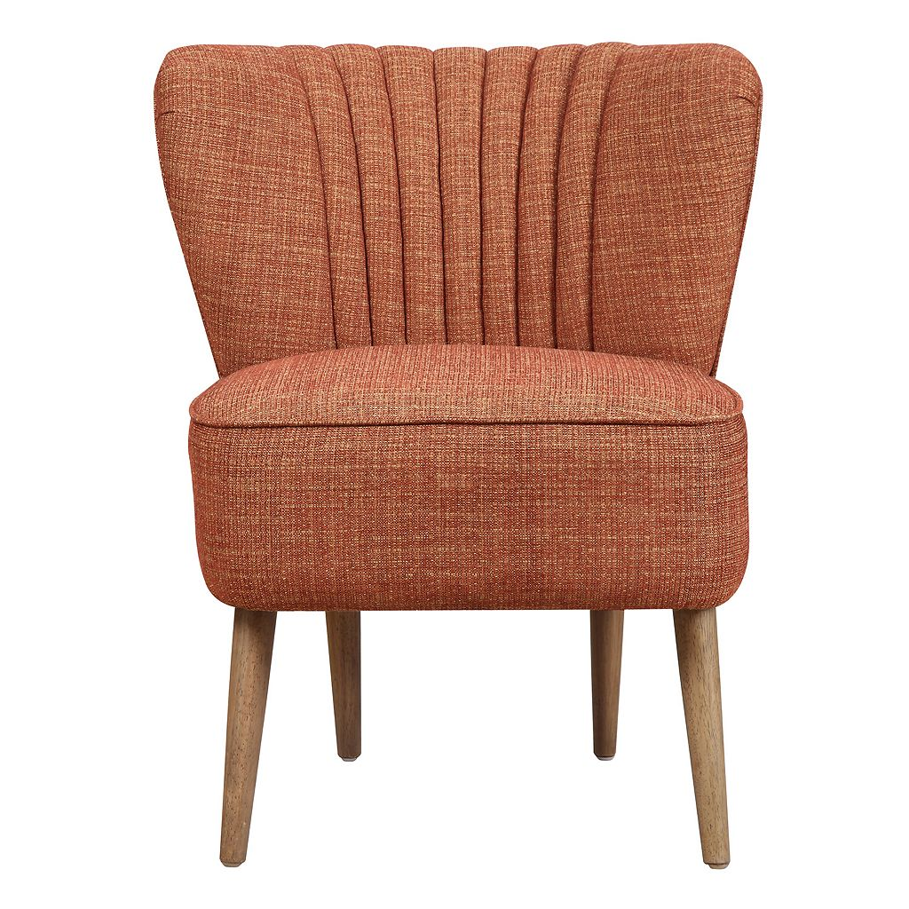 Pulaski Mid-Century Armless Accent Chair