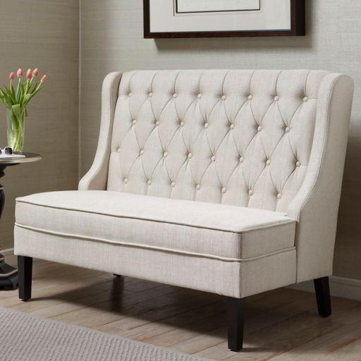 Pulaski Upholstered Banquette Bench