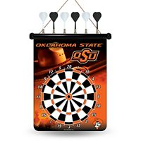 Oklahoma State Cowboys Magnetic Dart Board