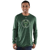 Men's Majestic Milwaukee Bucks Point of Attack Tee