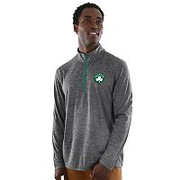 Men's Majestic Boston Celtics Remain Focused Quarter-Zip Top