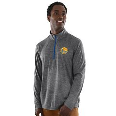 Men's Majestic Golden State Warriors Remain Focused Quarter-Zip Top
