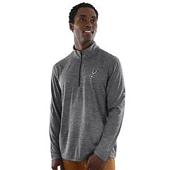Men's Majestic San Antonio Spurs Remain Focused Quarter-Zip Top