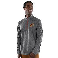 Men's Majestic Cleveland Cavaliers Remain Focused Quarter-Zip Top