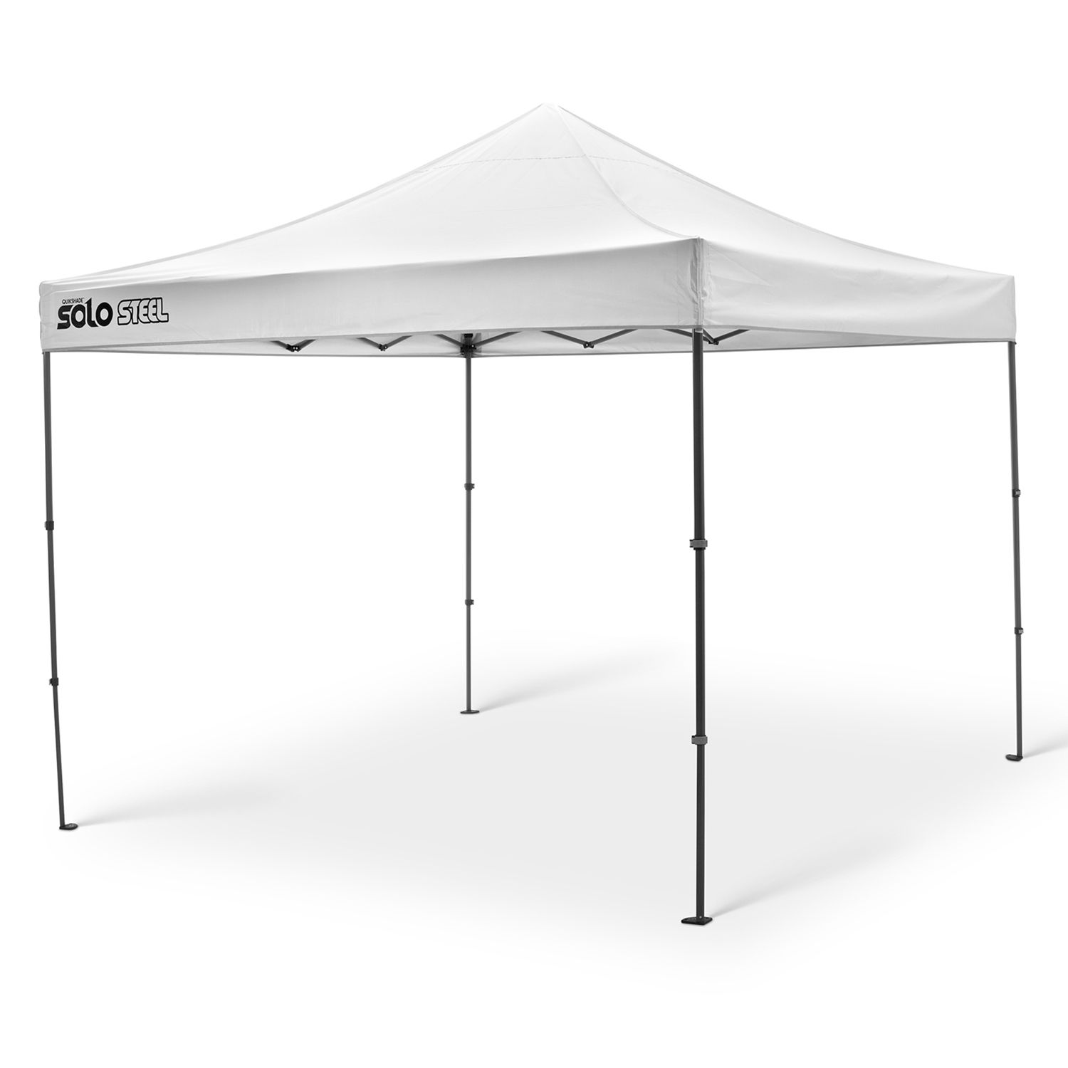 quik shade solo steel 100 10u0027 x 10u0027 instant canopy - Instant Canopy
